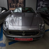 A luxury coupe Maserati 3200 GTA (Tipo 338) Royalty Free Stock Photography