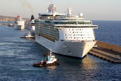 Luxury cruise. Stock Photo