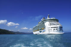 Luxury cruise in Labadee Stock Photography