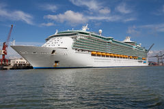 Luxury cruise liner Royalty Free Stock Images