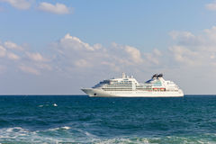 Luxury cruise liner Royalty Free Stock Image