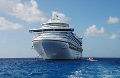 Luxury cruise liner Stock Photo