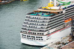 Luxury Cruise liner Royalty Free Stock Photos