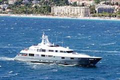 Luxury cruise sailing Royalty Free Stock Photography
