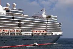 Luxury cruise sailing Stock Photo