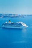 Luxury Cruise Ship stock images
