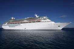 Luxury cruise ship Stock Images