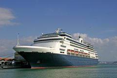 Luxury cruise ship Stock Photography