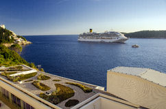 Luxury cruise ship Royalty Free Stock Photo