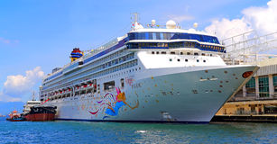Luxury cruise ship Stock Photo
