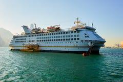 The luxury cruise ship Stock Images