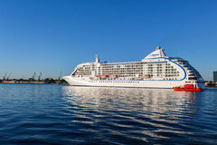 Luxury cruise ship Regent Seven Seas Royalty Free Stock Image