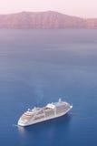 Luxury cruise ship. Royalty Free Stock Photo