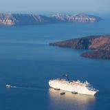 Luxury cruise ship. Stock Image