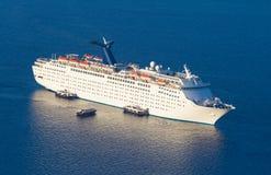 Luxury cruise ship. Royalty Free Stock Image