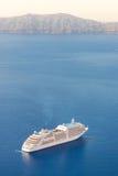 Luxury cruise ship. Royalty Free Stock Images