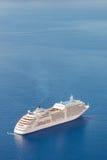 Luxury cruise ship. Royalty Free Stock Photography