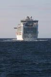Luxury cruise ship sailing Royalty Free Stock Photography