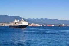 Luxury Cruise Ship Stock Photo