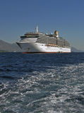 Luxury cruise ship  at sea Royalty Free Stock Photography