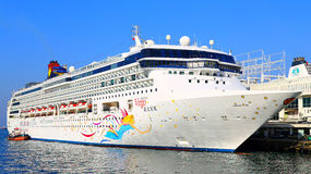Luxury cruise ship Royalty Free Stock Images