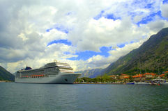 Luxury cruise ship Royalty Free Stock Photos