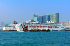 Luxury cruises in hong kong Stock Photos