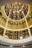 Luxury Crystal chandelier Royalty Free Stock Photography