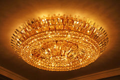 Luxury crystal chandelier Royalty Free Stock Image