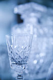 Luxury crystal glass Stock Photo