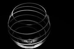 Luxury crystal globe wine glass Royalty Free Stock Photos