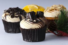 A Luxury Cup Cakes Stock Image
