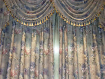 Luxury curtain Stock Photography