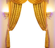 Luxury curtain Royalty Free Stock Image