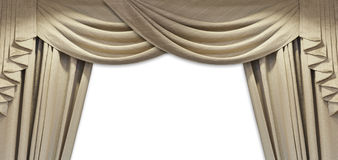 Luxury curtain Royalty Free Stock Photo