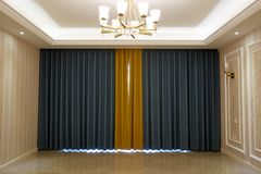 Glory curtain royalty free stock photo