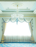 Luxury curtain - Stock Image Royalty Free Stock Images