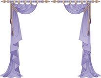 Luxury Curtains Royalty Free Stock Image