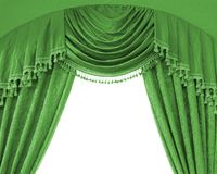 Luxury curtains Royalty Free Stock Photos