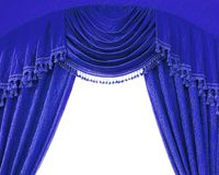 Luxury curtains Stock Photo