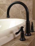 Luxury Curved Jacuzzi faucet Stock Photography