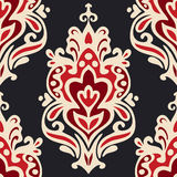 Luxury Damask seamles vector Stock Photo