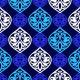 Luxury damask seamless motif . Vector Stock Photo