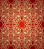 Luxury damask seamless motif . Vector Royalty Free Stock Photo