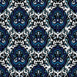 Luxury damask seamless pattern  Stock Photo