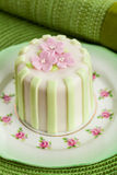 Luxury decorated mini cake Royalty Free Stock Image