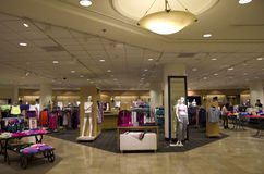Luxury department clothing store Royalty Free Stock Photos