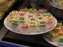 Luxury desserts stock image