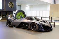 The luxury Devel Sixteen concept supercar is on Dubai Motor Show 2017 Stock Photography