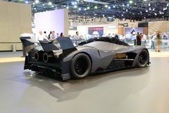 The luxury Devel Sixteen concept supercar is on Dubai Motor Show 2017 Stock Photography